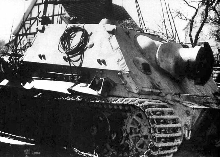 Грозное орудие, которое так и не состоялось. |Фото: vsevgallery.ru.