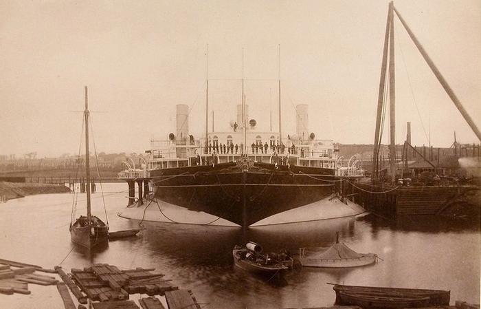 Имперская яхта Ливадия, принадлежавшая Александру III.