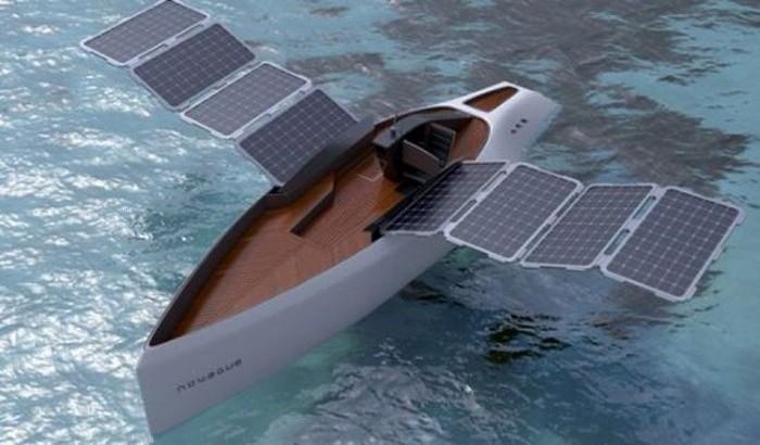 Seagull - яхта на солнечной энергии.