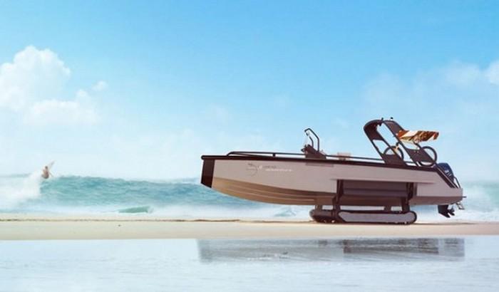 Гибридная концептуальная яхта Iguana.