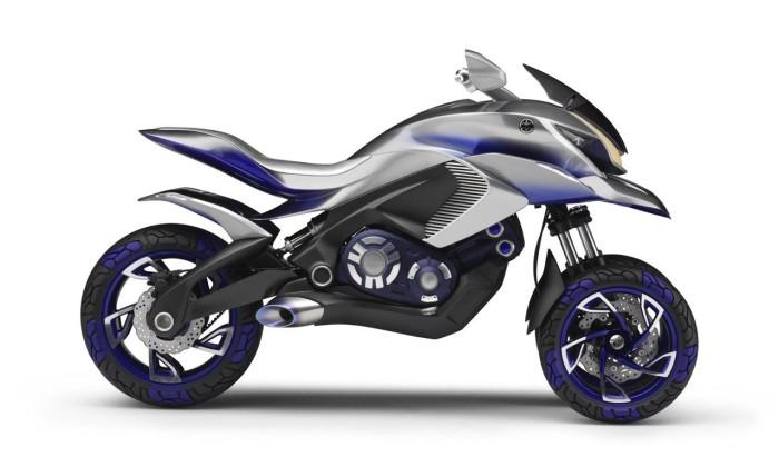 Yamaha 01GEN - трёхколёсный кроссовер агрессивного дизайна.