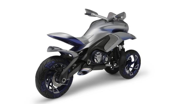 Самый устойчивый байк Yamaha.
