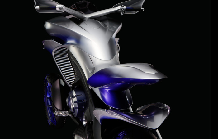 Трицикл Yamaha: агрессия в каждой линии.