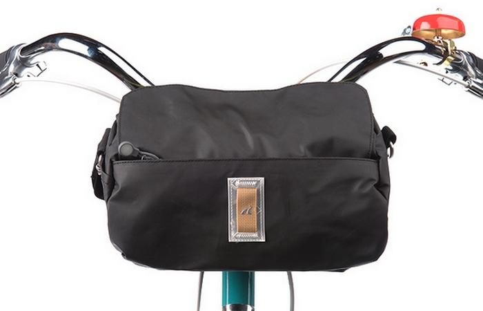 Велосипедный гаджет: Handlebar Duffel Bag.