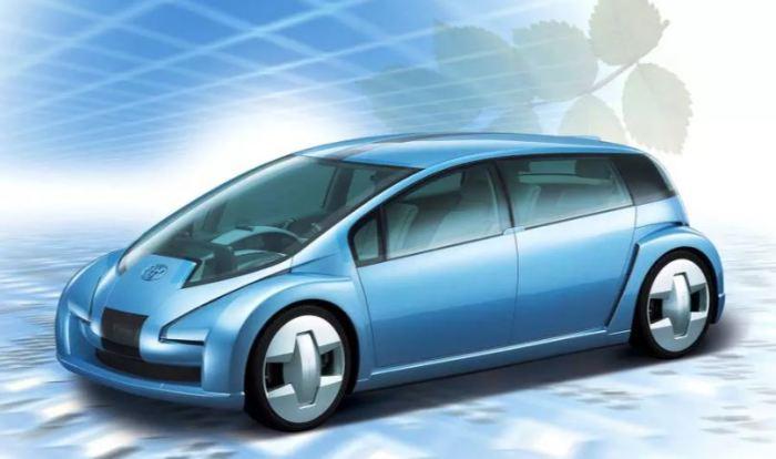 Один из первых водородных авто. ¦Фото: novate.ru.