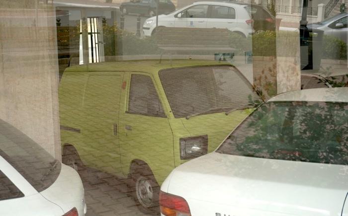 В салоне есть любопытные творения Subaru, снятые ныне с производства.