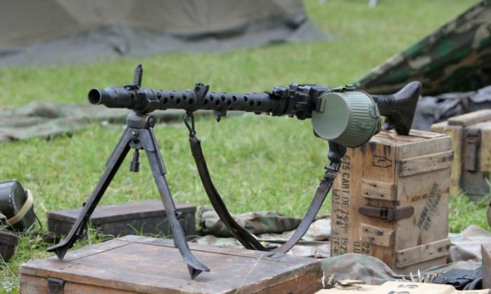 Один из первых единых пулеметов в мире. |Фото: 1zoom.ru.