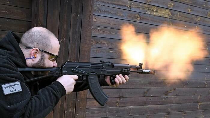 Стрельба дело непростое. |Фото: kommersant.ru.