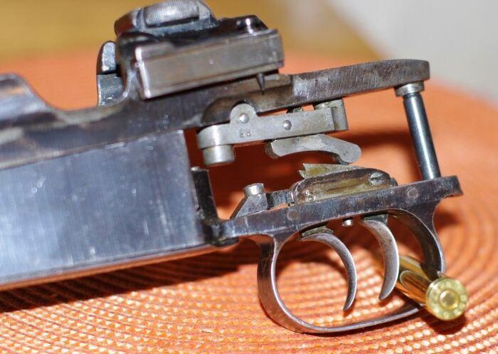 Второй крючок - переключатель для шнеллера. |Фото: severforum.ru.