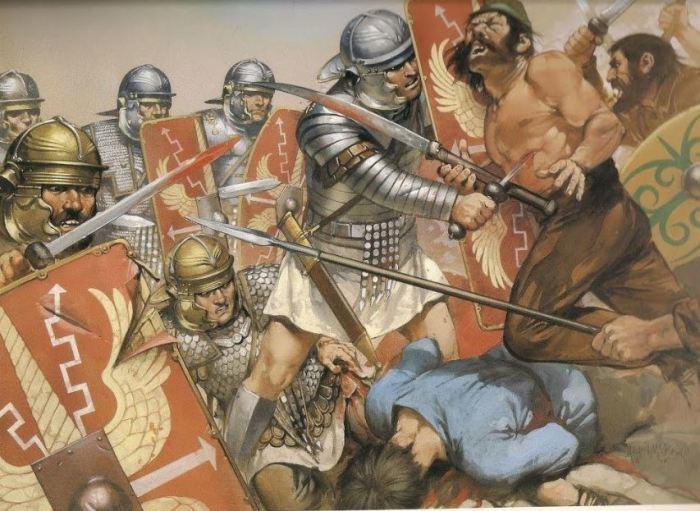 Римляне потом набирали фракийцев в союзники. |Фото: yandex.com.