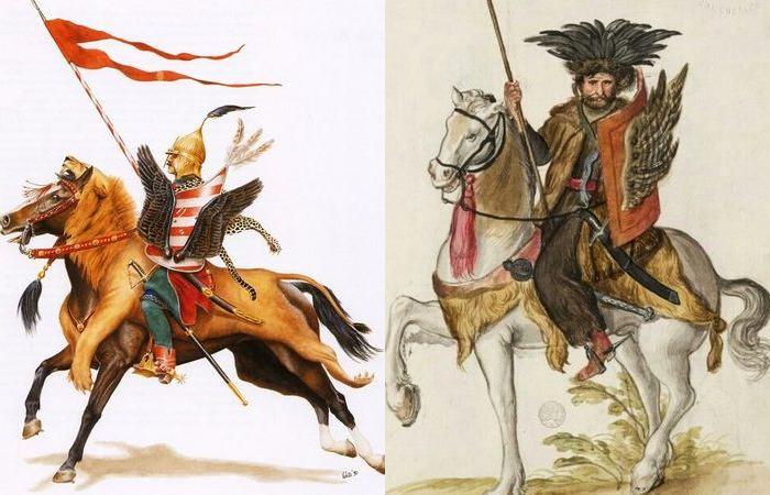 Слева - венгерский гусар, справа - турецкий дели. |Фото: ya.ru.