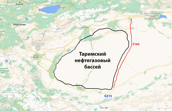 Трасса и нефтяной бассейн. |Фото: novate.ru.