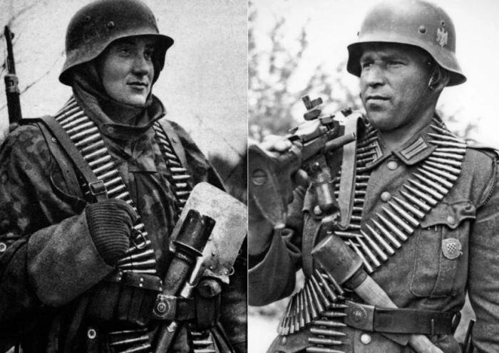 Даже немецкие пулеметчики так делали. ¦Фото: ya.ru.