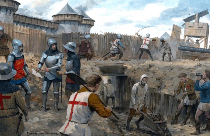 Это и была основная часть войны. ¦Фото: pinterest.ru.