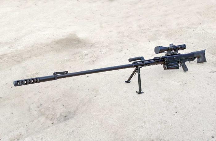 «Противоснайперское ружье»: зачем делают винтовки под калибр 12.7 мм