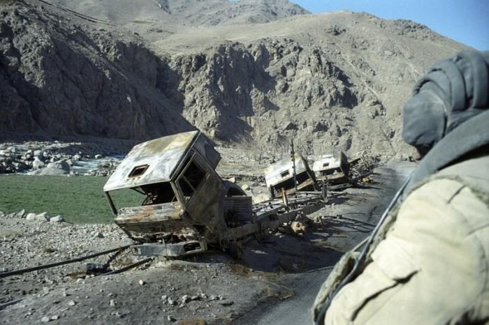 Мины, фугасы и засады были привычным делом. |Фото: rusonline.org.