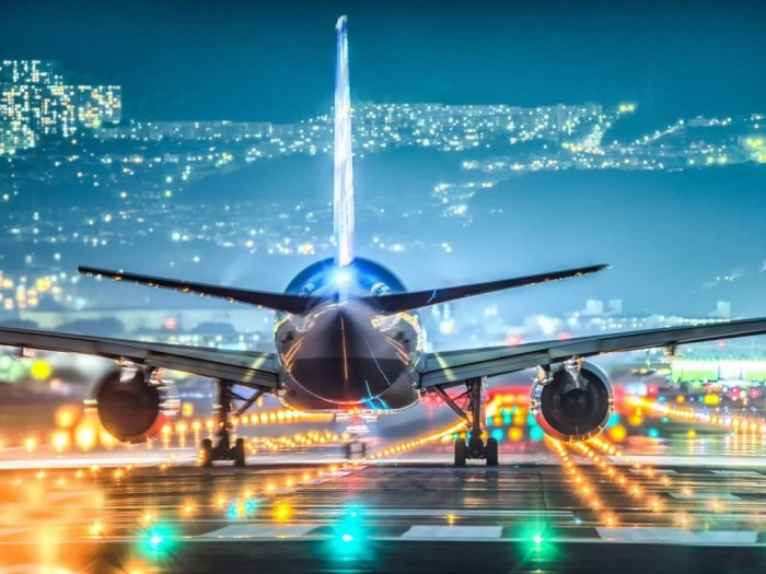 Взлет самолета. |Фото: yandex.by.