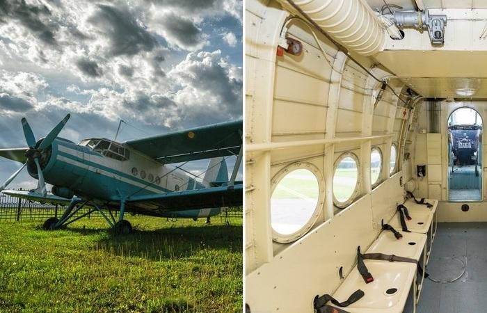 Почему пассажирские кресла в самолетах Ан-2 делают похожими на раковины