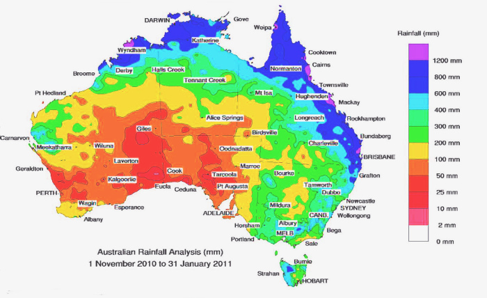 Климат в Австралии очень непростой. |Фото: drujbaspb.ru.
