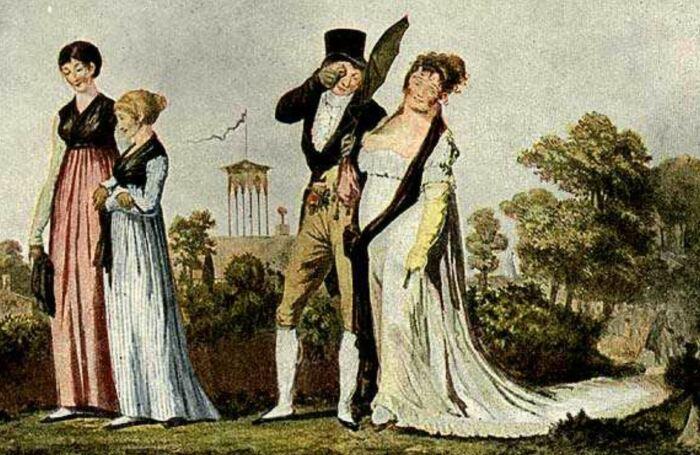 На смену изящному рококо приходит строгий и утонченный ампир. |Фото: otr24.com.