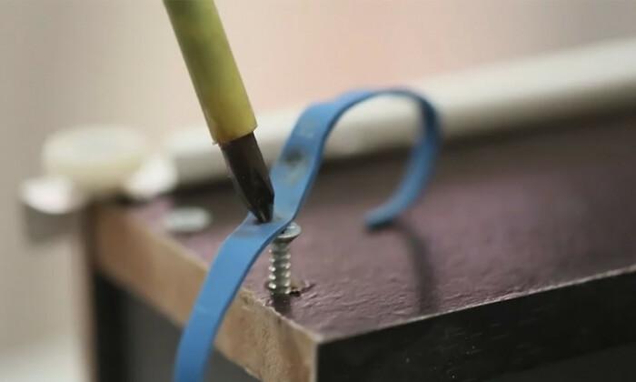 Пользуемся резинкой. |Фото: woodwebstore.com.
