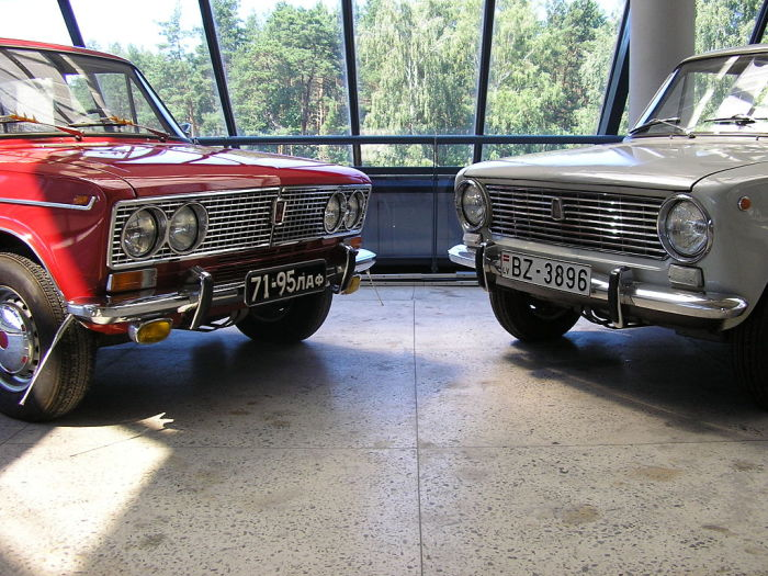 Были и на советских авто. drive2.ru.
