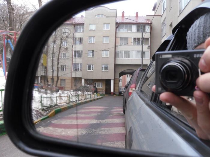 Это зона искажения. |Фото: drive2.ru.