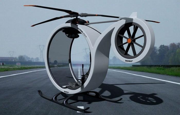 Вертолет ZERO – личный транспорт нового поколения.