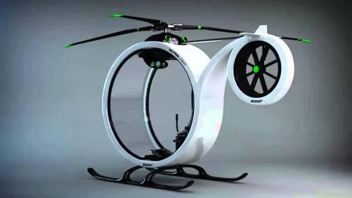 Вертолет ZERO - спасение от пробок.