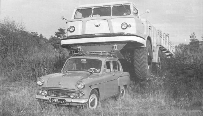 Советский супервездеход ЗиЛ-E167.