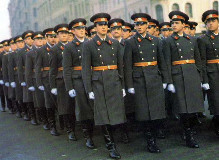 Советская милиция охраняла народ.  Фото: russialand.livejournal.com.
