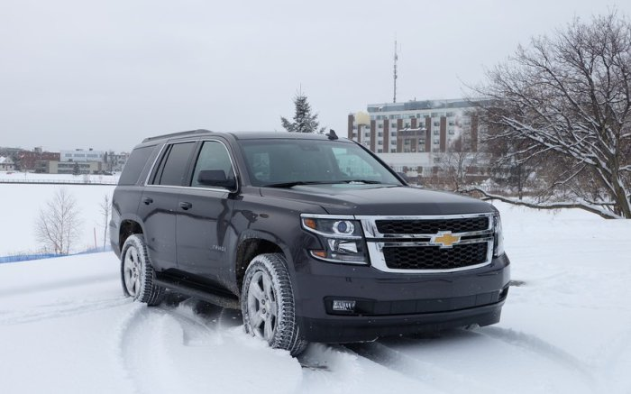 Внедорожник высокой проходимости Chevrolet Tahoe.