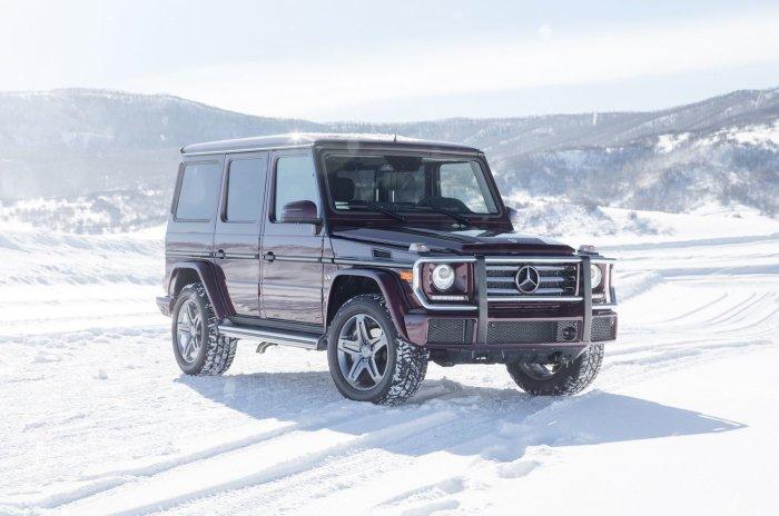 Mercedes-Benz G550 - зимняя классика.