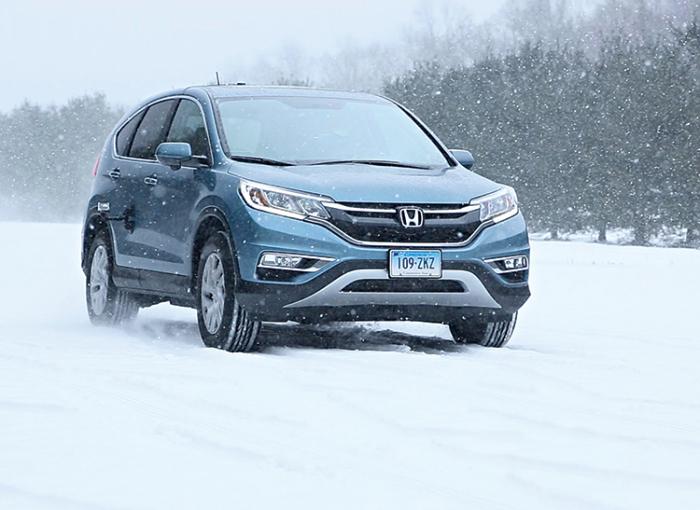 Honda HR-V - для любых поездок холодной снежной зимой.