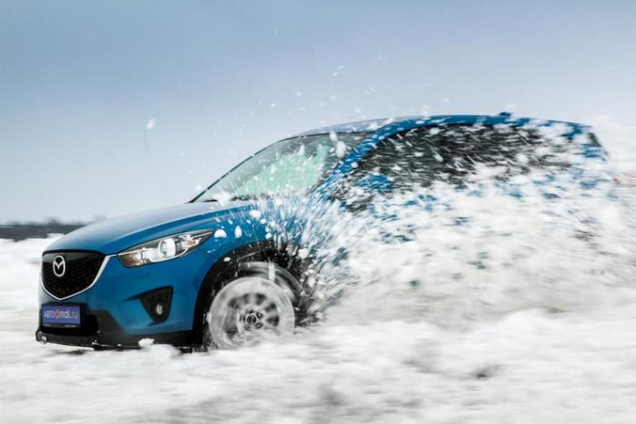 Mazda CX-5 - прекрасный выбор для зимы.
