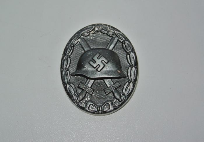 Знак за ранение нацистской Германии 3-ей степени. Второй степени - серебренный. Первой - золотой. /Фото: forum.guns.ru.
