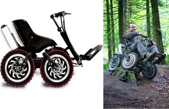 Моторизованная коляска-внедорожник Zoomability.