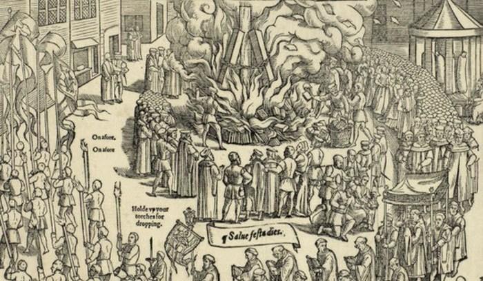 Кремация на ярмарке и другие страшные казни.