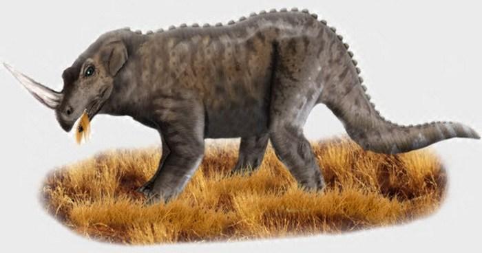 Эмела-Нтука = динозавр цератопс.