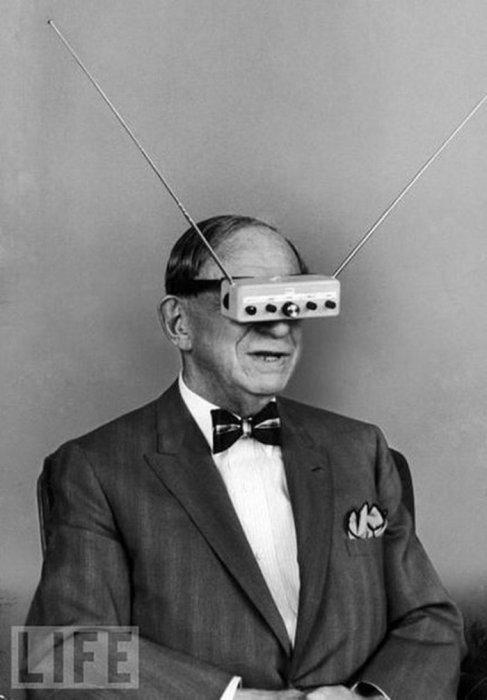 Гугл гласс из 1960-х.