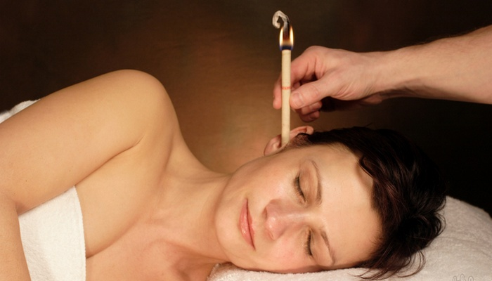 Жуткая медицина: свечи для уха.