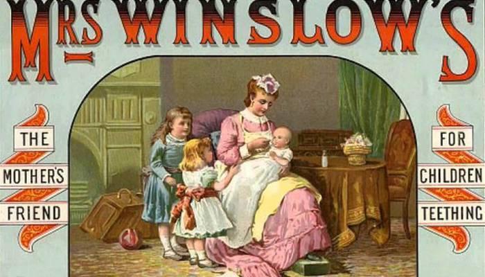 Жуткая медицина: успокаивающий сироп для младенцев.