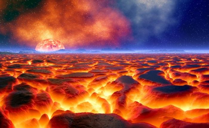 Альфа Центавра - планета адского океана из лавы.
