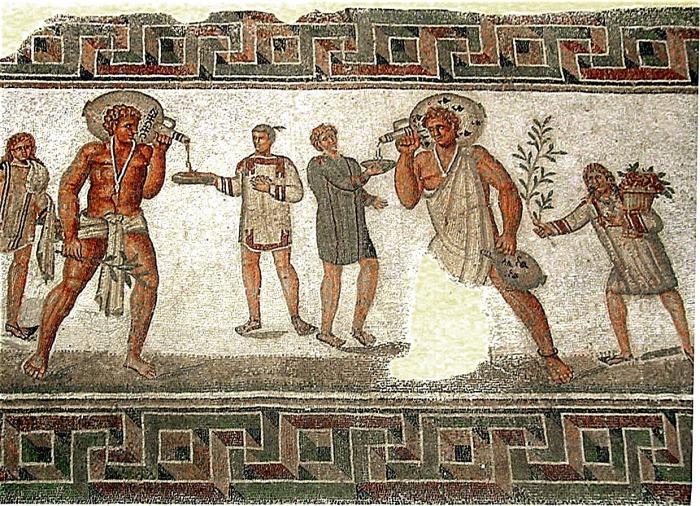 На одного спартанца приходилось два десятка рабов.