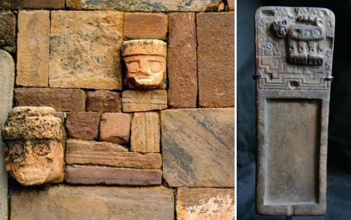 Таинственные артефакты древней цивилизации.