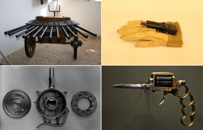 Самого необычное огнестрельное оружие прошлого.