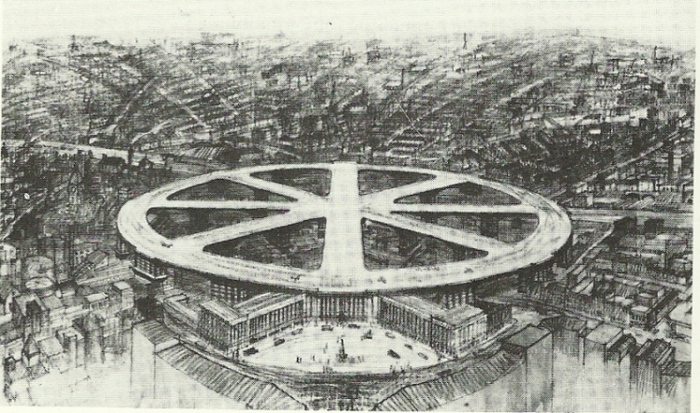 Таким мог быть лондонский аэропорт.