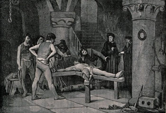 Самые ужасные средневековые пытки.