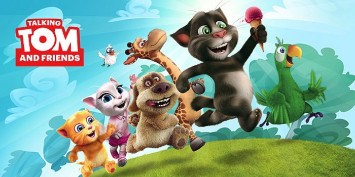 Talking Tom and Friends.