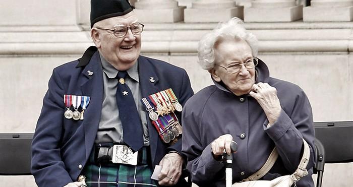 Британский ветеран.